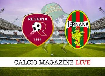 Reggina Ternana cronaca diretta live risultato in tempo reale