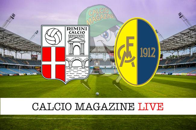 Rimini Modena cronaca diretta live risultato in tempo reale