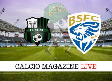 Sassuolo Brescia cronaca diretta live risultato in tempo reale