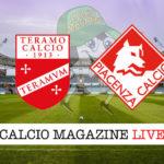 Teramo Piacenza cronaca diretta live risultato in tempo reale