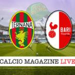 Ternana Bari cronaca diretta live risultato in tempo reale