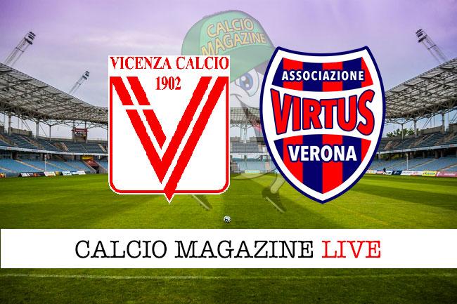 Vicenza Virtus Verona cronaca diretta live risultato in tempo reale