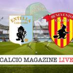 Virtus Entella Benevento cronaca diretta live risultato in tempo reale