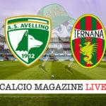 Avellino Ternana cronaca diretta live risultato in tempo reale