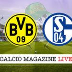 Borussia Dortmund Schalke04 cronaca diretta live risultato in tempo reale
