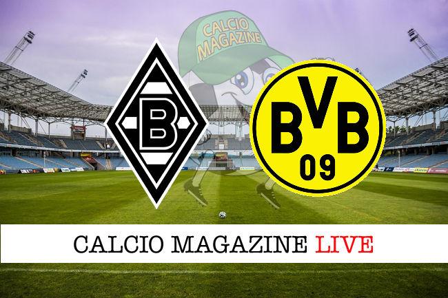 Borussia Monchengladbach Borussia Dortmund cronaca diretta live risultato in tempo reale
