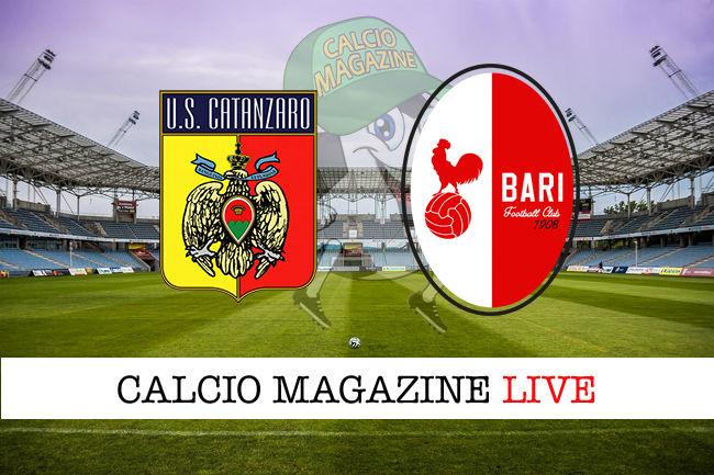 Catanzaro Bari cronaca diretta live risultato in tempo reale
