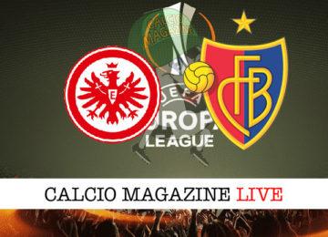 Eintracht Francoforte Basilea cronaca diretta live risultato in tempo reale