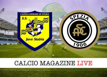 Juve Stabia Spezia cronaca diretta live risultato in tempo reale
