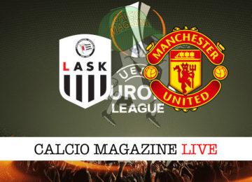 Lask Manchester United cronaca diretta live risultato in tempo reale