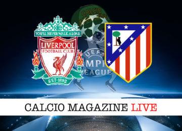 Liverpool Atletico Madrid cronaca diretta live risultato in tempo reale