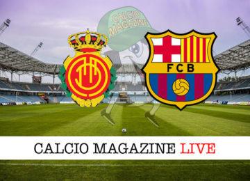 Mallorca Barcellona cronaca diretta live risultato in tempo reale