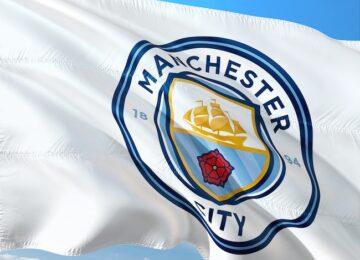 manchester city bandiera
