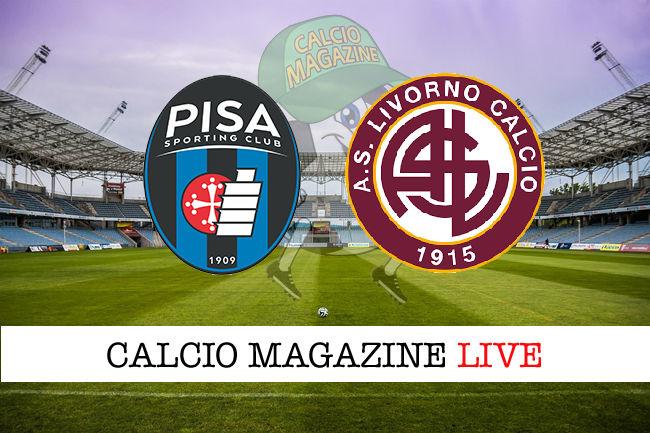 Pisa Livorno cronaca diretta live risultato in tempo reale