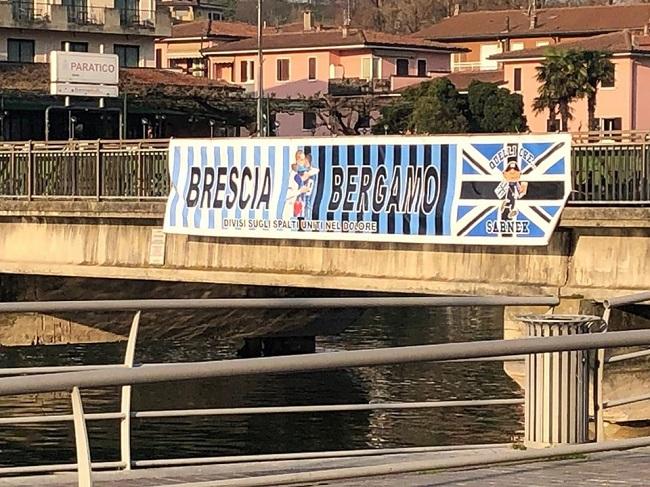 Coronavirus: Brescia e Bergamo, divise sugli spalti e  unite nel dolore