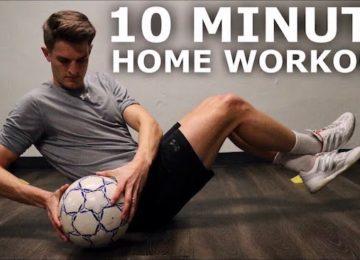 10 minuti allenamento