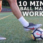 10 minuti allenamento palla