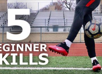 Trucchi di calcio Freestyle, cinque esercizi pratici
