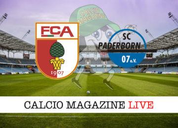 Augsburg Paderborn cronaca diretta live risultato in tempo reale