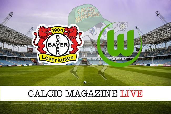 Bayer Leverkusen Wolfsburg cronaca diretta live risultato in tempo reale