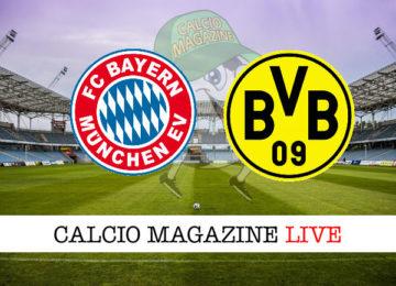 Bayern Monaco Borussia Dortmund cronaca diretta live risultato in tempo reale