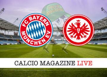 Bayern Monaco Eintracht Francoforte cronaca diretta live risultato in tempo reale