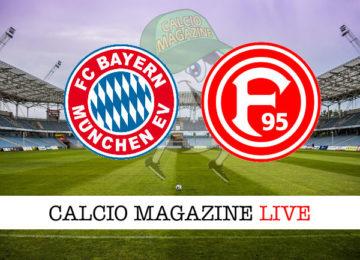 Bayern Monaco Fortuna Dusseldorf cronaca diretta live risultato in tempo reale
