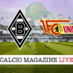 Borussia M'Gladbach Union Berlino cronaca diretta live risultato in tempo reale