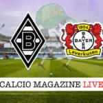 Borussia Monchengladbach Bayer Leverkusen cronaca diretta live risultato in tempo reale