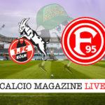Colonia Fortuna Dusseldorf cronaca diretta live risultato in tempo reale