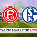Fortuna Dusseldorf Schalke 04 cronaca diretta live risultato in tempo reale