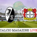 Friburgo Bayer Leverkusen cronaca diretta live risultato in tempo reale