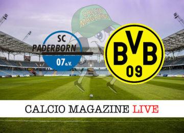 Paderborn Borussia Dortmund cronaca diretta live risultato in tempo reale