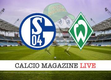 Schalke04 Werder Brema cronaca diretta live risultato in tempo reale