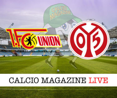 Union Berlino Mainz 05 cronaca diretta live risultato in tempo reale