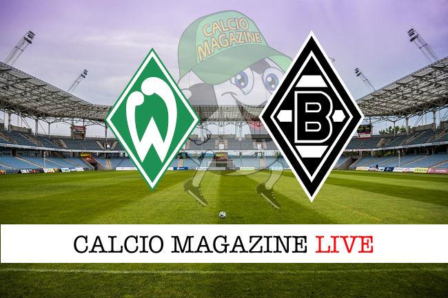 Werder Brema Borussia M'Gladbach cronaca diretta live risultato in tempo reale