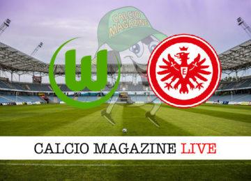 Wolsfburg Eintracht Francoforte cronaca diretta live risultato in tempo reale