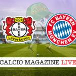 Bayer Leverkusen Bayern Monaco cronaca diretta live risultato in tempo reale