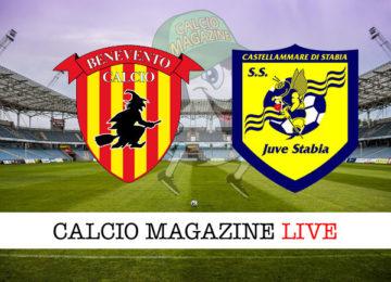 Benevento Juve Stabia cronaca diretta live risultato in tempo reale