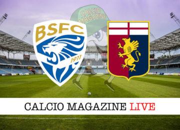 Brescia Genoa cronaca diretta live risultato in tempo reale