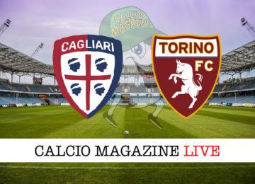 Cagliari Torino cronaca diretta live risultato in tempo reale