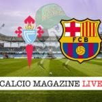 Celta Vigo Barcellona cronaca diretta live risultato in tempo reale