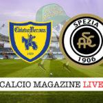 Chievo Spezia cronaca diretta live risultato in tempo reale