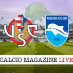 Cremonese Pescara cronaca diretta live risultato in tempo reale
