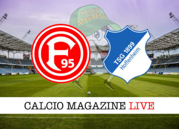 Dusseldorf Hoffenheim cronaca diretta live risultato in tempo reale