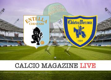 Virtus Entella Chievo cronaca diretta live risultato in tempo reale