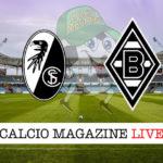 Friburgo Borussia M'Gladbach cronaca diretta live risultato in tempo reale