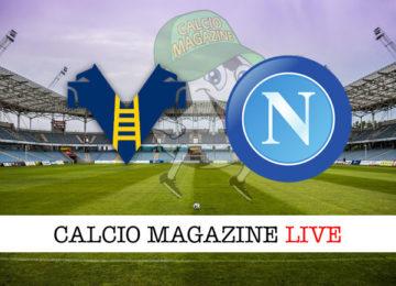 Hellas Verona Napoli cronaca diretta live risultato in tempo reale