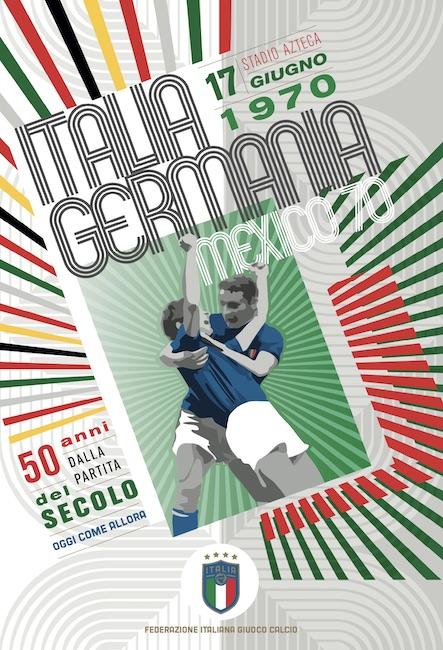 italia-germania 1970 locandina