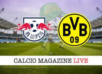 Lipsia Borussia Dortmund cronaca diretta live risultato in tempo reale